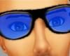 Cool Blue Glasses