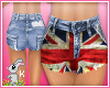 !B! England High Shorts