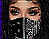 !D Blk Bandana Mask