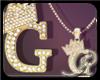R  G gold Dm necklace