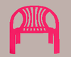 (L) Plastic Pink Chair