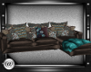 @-Teal and choc couch