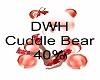 DWH chrismas Cuddle Bea