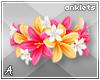 A| Lani Flower Anklets 5