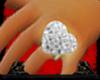 *FA* Diamond Heart Ring