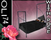 [OD] Black Velvet Bed