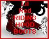 Lil Red Riding Hood Boot