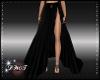 D- Black Long Skirt