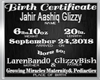 Jahir Aashiq Glizzy BC