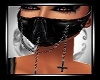 Unholy black PVC Mask