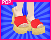 $ WaterMelon Sandals