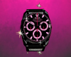 Black and Pink Rolex