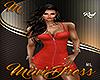 [M] Minidress Red RL
