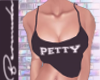 Petty Tank Black