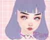 p. purple m0nys hair