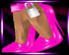 Pink Locked Heels