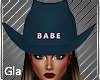 Babe Blue Hat