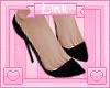 [L] Black Heels