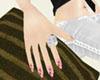 dainty hand w manicure