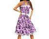 (1NA) Purple Wild Dress
