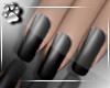 Nails -Blk Satin