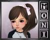 Kids hair w/ pink bow
