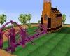 Purple Floral Church