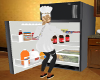 LG Fridge Stocked Blk