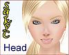 + Alice Head Blond Blue