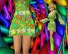 ~Oo Green Mod Skirt