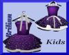 [B] Girlz Purple Dress
