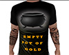 Empty Pot of Gold Tee M
