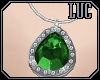 [luc] Necklace S Emerald