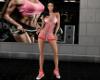 -1m-  Sport dress red rl