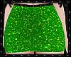 Sparkle Skirt Green