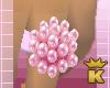 {K} Pink Pearls Ring