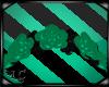 Sea Green Rose Headdress