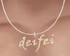 Deifei Necklace Male