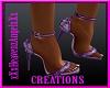 Lily Purple Heels