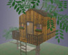 Earth tones tree house