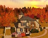 AUTUMN IRISH COTTAGE