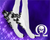 White and Black Leg Tuft
