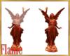 Vampire goddess statues
