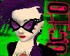 O. Purple Bat Glasses