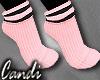 Pink swather socks