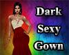 Dark Sexy Gown