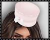 Hat pink white