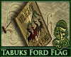 Tabuks Ford Wall Flag
