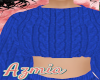 feeling blu knit top