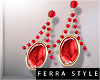 ~F~Vlada Earrings Berry